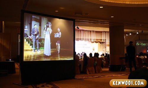 ballroom screen