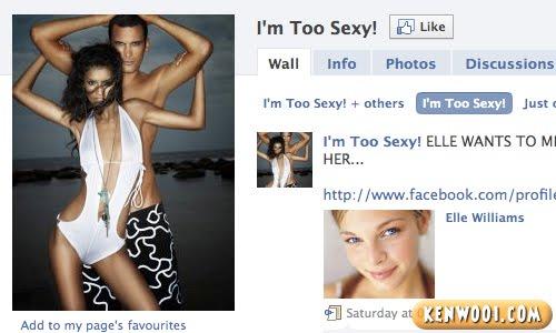 facebook too sexy