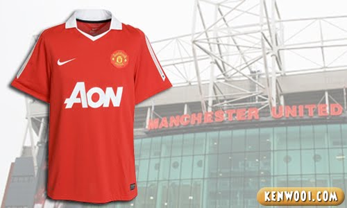 manchester united aon jersey