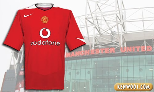 manchester united vodafone jersey