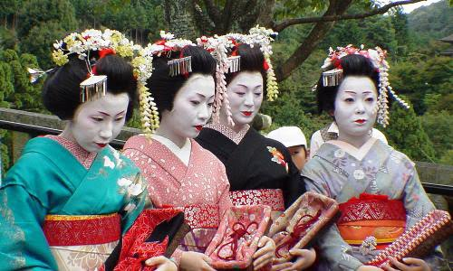 japanese village geisha