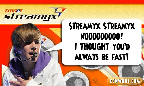 bieber streamyx sucks