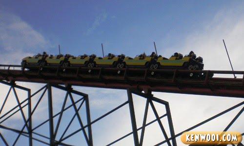 genting roller coaster corkscrew