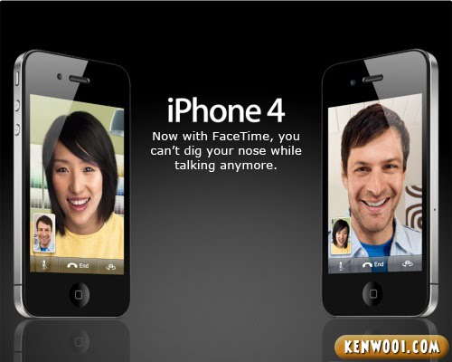 iphone 4 facetime advertisement