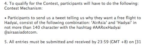 airasia contest