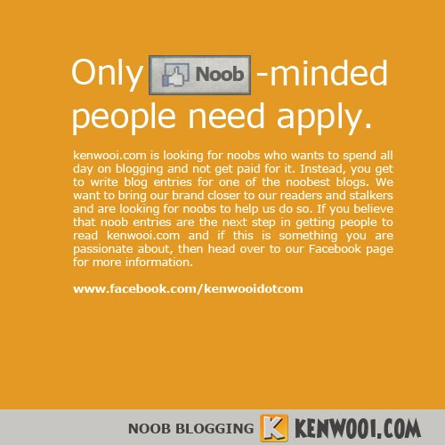kenwooi blogging advert
