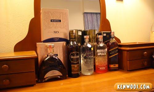 alcoholic liquor