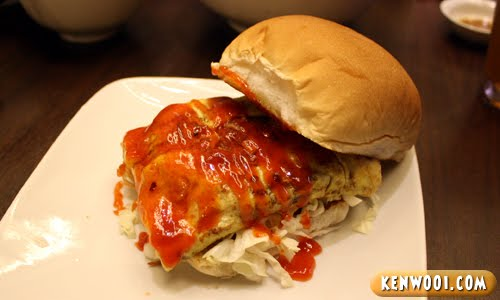 ipoh ipoh chicken burger