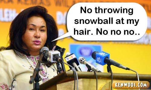 seri rosmah hair