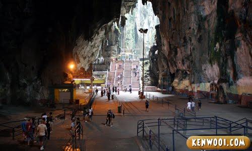 batu caves inside