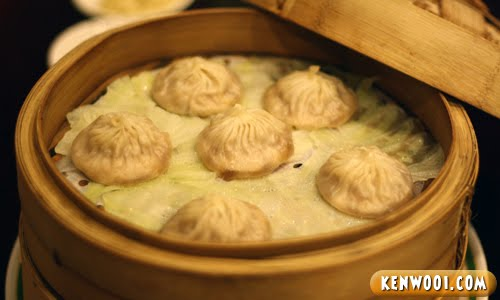Also on the menu was steamed Shanghainese meat dumplings. Well-known ...