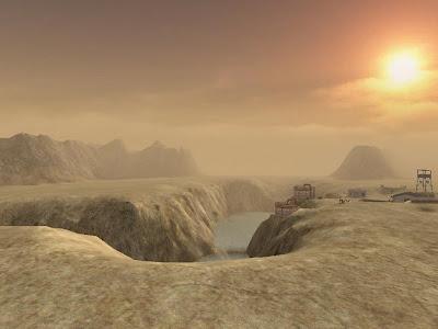 nuclear desert sci-fi fantasy