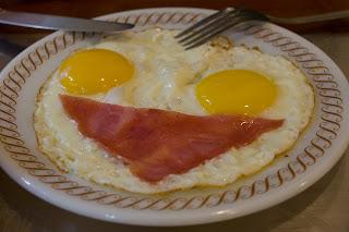 還有邪惡的煎雙蛋火腿+火腿