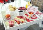 Café da manhã especial para a Mamãe!
