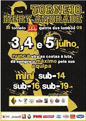 Torneio Mery Andrade, 3-5/7/2009