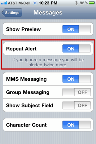 How To Disable iPhone Repetitive Notifications Or Multiple Beep For