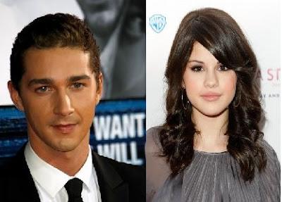 Selena Gomez y Shia LaBeouf