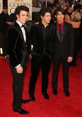 Jonas Brothers en Globos de Oro