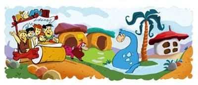 Google celebra 50 Aniversario Los Picapiedras