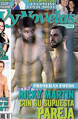 Pareja de Ricky Martin