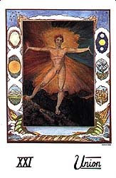 willian blake tarot