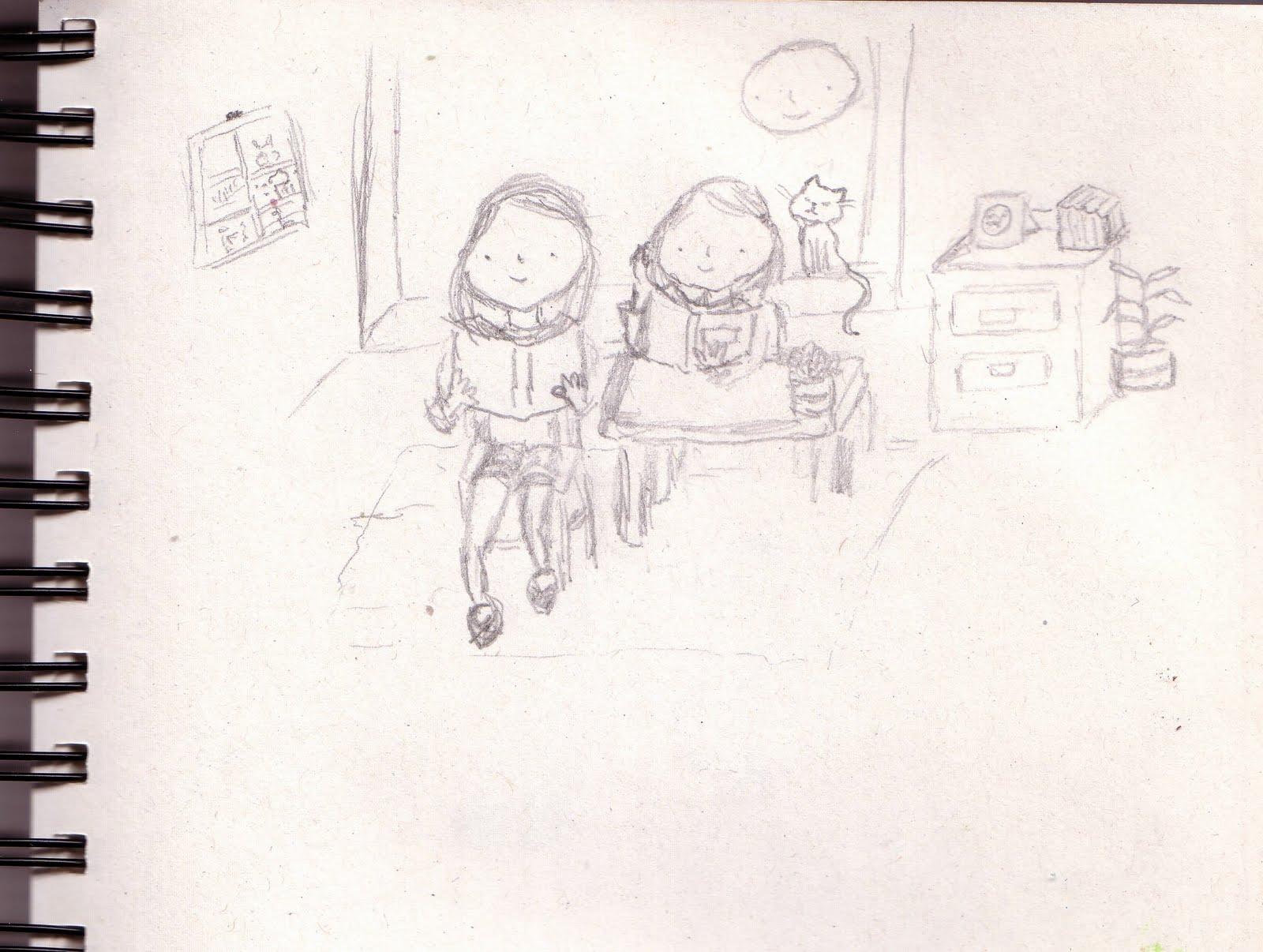 Ilustraciones infantiles. Mónica Ortiz: noviembre 2009