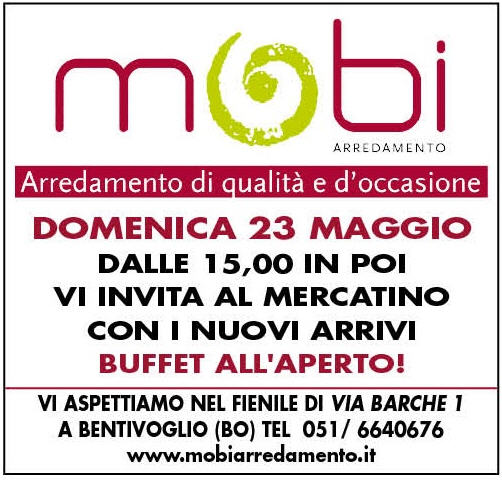 La voce del cittadino bologna e provincia mercatino for Mobi arredamenti