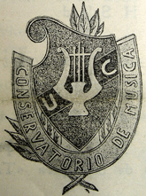 Escudo del Conservatorio, aos 40&#39;s