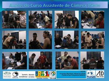 CURSO ASSISTENTE DE CÂMERA 35mm 25 a 29 de outubro