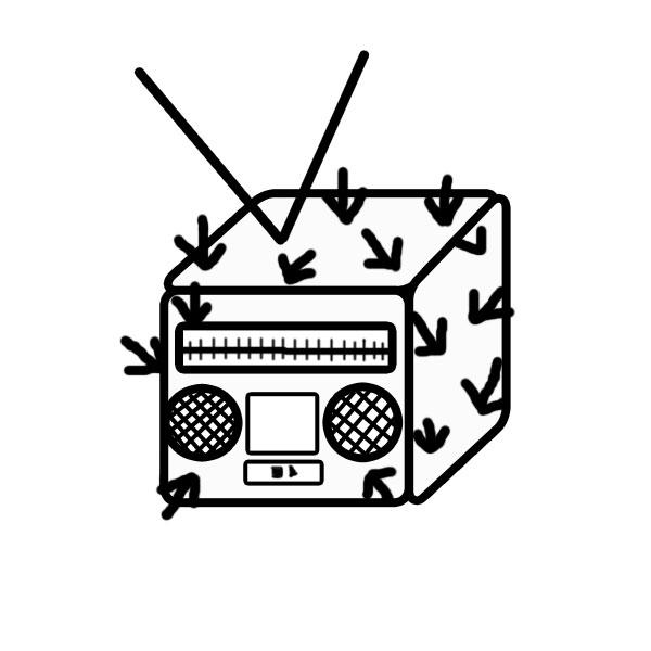RADIO CACTUS CUBE