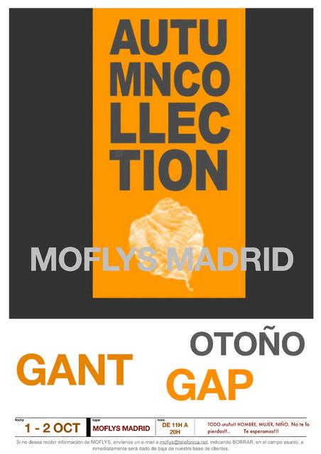 Mercadillos madrile os more gap y gant oto o - Gaston y daniela outlet ...