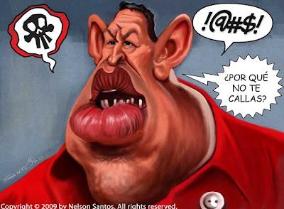 Chavez caricature
