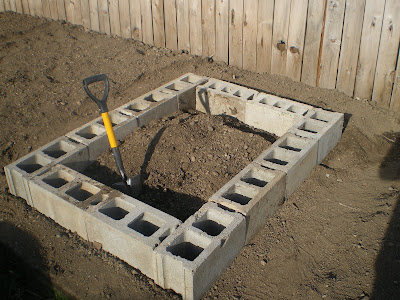 Raised Bed Gardening Blog Building A Cinder Block Raised