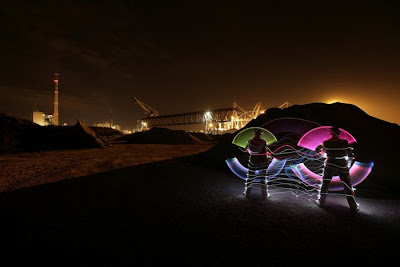 Incredible Light Paintings