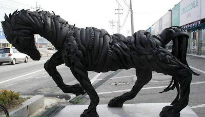 Tires Sculptures Around The World