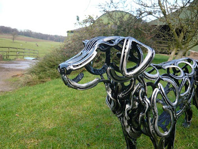 Tom Hill Dog Sculptor
