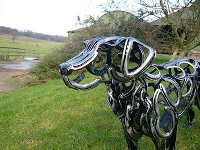 Tom Hill Dog Sculptor
