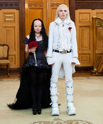 Goth Wedding in Russia