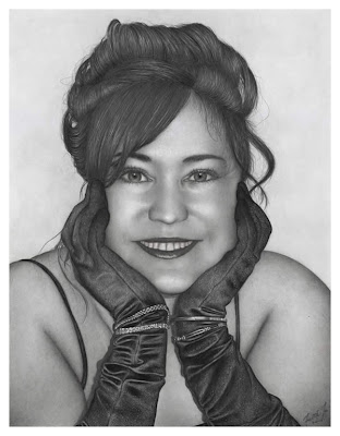 Incredible Female Portrait Drawings