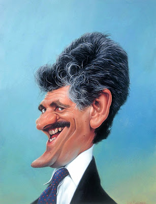 Celebrity Caricatures by Sebastian Kruger