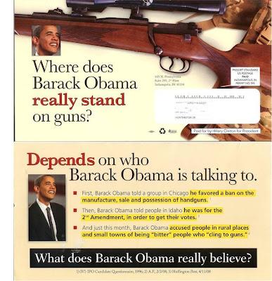 Clinton Gun Pamphlet