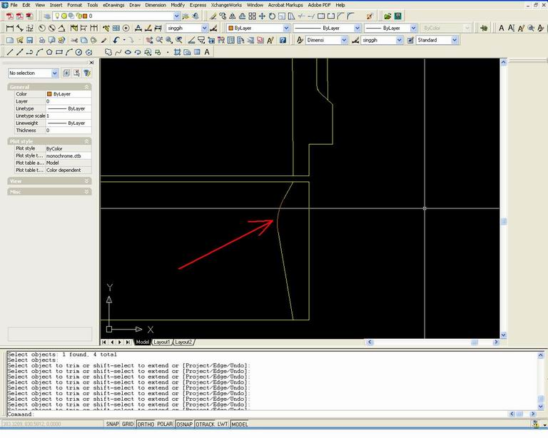 Drawing Smooth Lines In Autocad : Belajar autocad