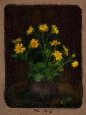 натюрморт с жёлтыми цветами