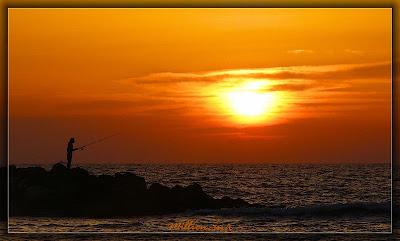 закат, sunset