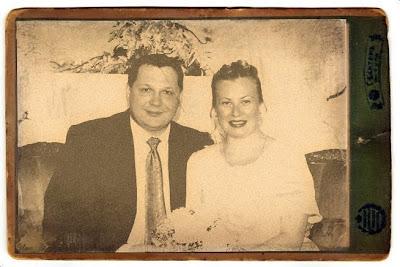 старинная свадебная фотография