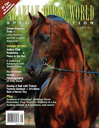Arabian Horse World Issues we're in!