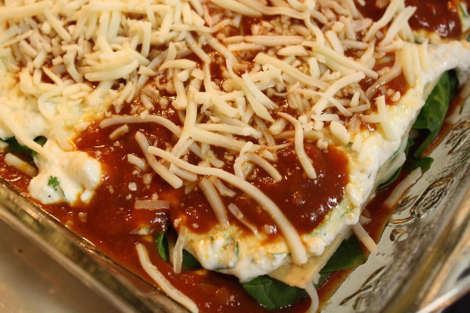 Veterans Day Vegetarian Lasagna - Saving Room for Dessert
