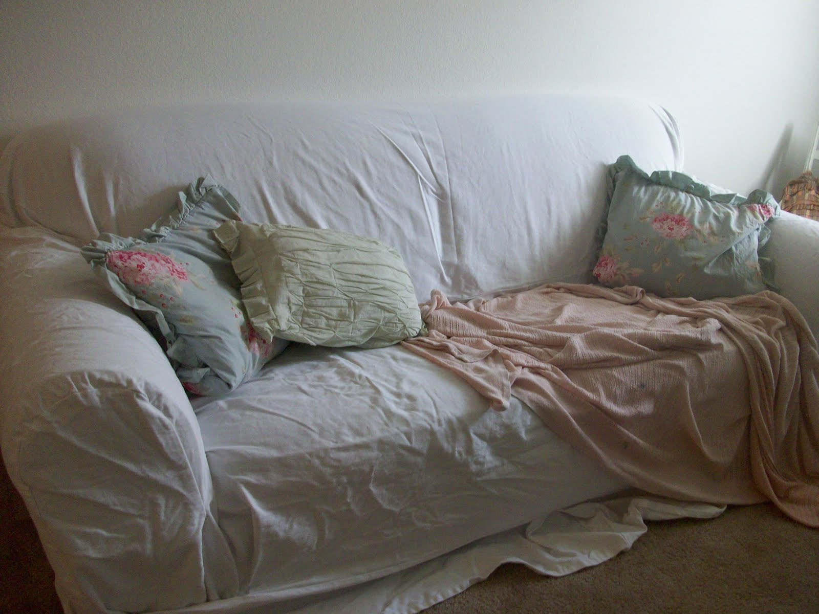 thornton journal simply shabby chic slipcover. Black Bedroom Furniture Sets. Home Design Ideas