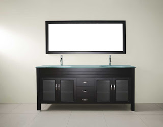 Bathroom Vanities Online on Bathroom  Three Solidly Constructed Drawers Sit In Perfect Symmetry