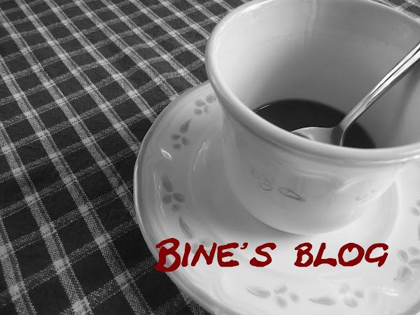 Bine's Blog